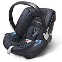 Cybex Aton 2  denim by Lala Berlin-blue