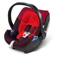 Cybex Aton 3  Strawberry-dark red