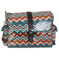 BUCKLE-BAG-Matte-Coated-Safari-Zig-Zag