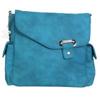 VEGAN-DIAPER-BAG   Blueberry-Blue