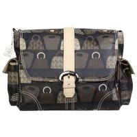 BUCKLE BAG COATED - Bag Lady Stone
